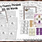 Fry Phrases (5th and 6th) Fluency Games and Intervention S