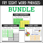 Fry Phrases Flashcards, Games, & Assessments {First 600 Fr