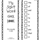 Fry Sight Word Check/Sticker book First 100