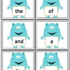Fry Sight Word Flashcards (1-25)