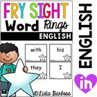 Fry Sight Word Rings