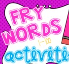 Fry Words 1-200 BUNDLED Pack
