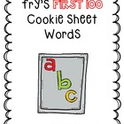 Fry's Words: First 100 Words-Magnetic Letter Mats!