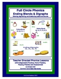 Full Circle Phonics - Book 4 - Ending Blends and Digraphs