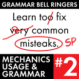 Full Semester #2 of Grammar, Proofreading Lessons to Impro