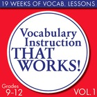 Full Semester Vocabulary Lessons for High School Students