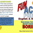 Fun ACT Prep: English &amp; Reading (full-length tests workbook)