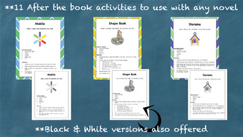 Fun Book Report Activity Ideas ~ Book Report Alternatives