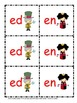 Fun CVC Wonderland Word Card Game--great for end of year