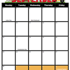 Fun Calendar M-F 2012-2013 (Includes holidays and special dates)