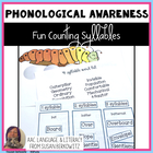 Fun Counting Syllables - a Phonological Awareness Fun Pack