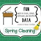 Fun DATA! {Spring Cleaning}