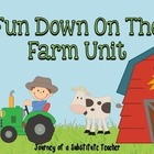 Fun Down On The Farm unit
