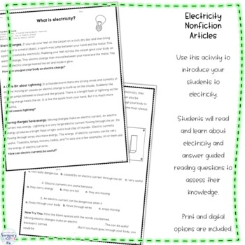 Fun & Exciting Hands On Electricity Unit