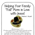 Fun Fall Ideas to Help Your Family &quot;Fall&quot; in Love with Jesus