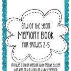 Fun &amp; Festive End of Year Memory Book