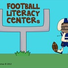 Fun Football Reading Centers