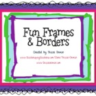 Fun Frames &amp; Borders Clip Art for Commercial Use