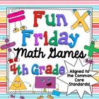 Fun Friday Math Games Mega Bundle