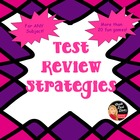 Fun Games and Review Strategies for Any Subject Area