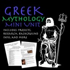 Fun Greek Mythology Materials and Handouts - REVISED