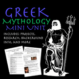 Greek Mythology Mini Unit Materials and Handouts - REVISED