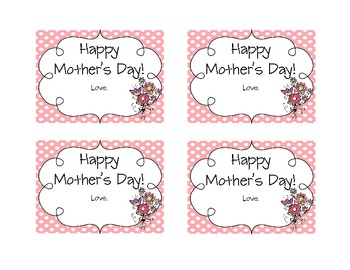 Fun Mother's Day Tags