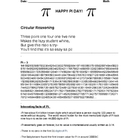 Fun Pi Day activities