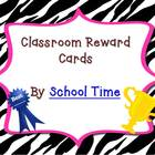 Fun Reward Cards for the Classroom