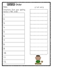 *Fun* Spelling Practice Worksheets