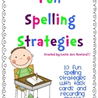 Fun Spelling Strategies