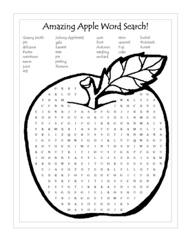 Fun With Apples Activities and Printables