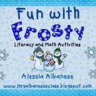 Fun With Frosty - Literacy and Math Activities