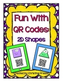 Fun With QR Codes: 2D Shapes