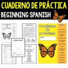 Fun Workbook and Songs for Spanish Class