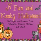 Fun and Kooky Halloween Math and Literacy Stations