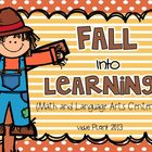 Fall Into Learning {Math and Language Arts Activities}