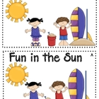Fun in the Sun Emergent Reader Level A