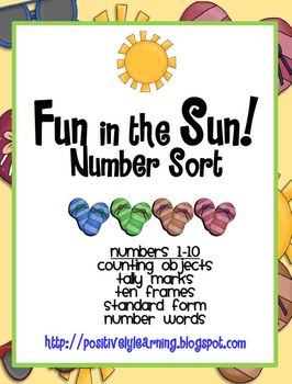 Fun in the Sun Number Sorts