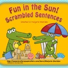 Fun in the Sun Scrambled Sentences