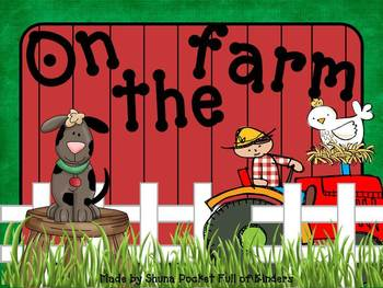 Fun on the Farm: Math, Science and Literacy Unit