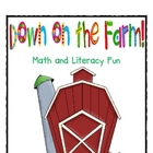 Fun on the Farm Math and Literacy Activities