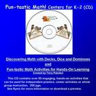 Fun-tastic Math!  Centers for K-2  CD