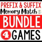 Fun to the CORE! {Prefix and Suffix Mega Pack} 8 Games, Pl