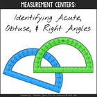 Fun with Angles:  acute, right, & obtuse