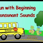 Fun with Beginning Sounds (SMARTBoard Lesson)