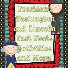 Fun with Facts and More: Presidents Day Series