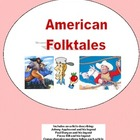 Fun with Folktales Balanced Literacy for  Grade 3-4 Worksheets