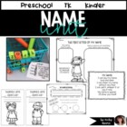 Fun with Names { math and writing pack }
