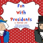 Fun with Presidents- A President&#039;s Day Mini Unit